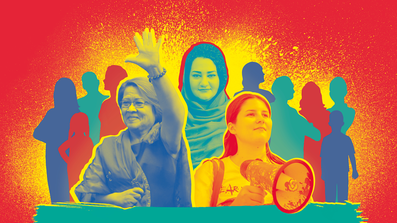 Starke Frauen für Menschenrechte