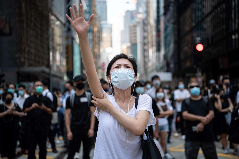 Demonstrant in Hongkong; © Laurel Chor/Getty Images