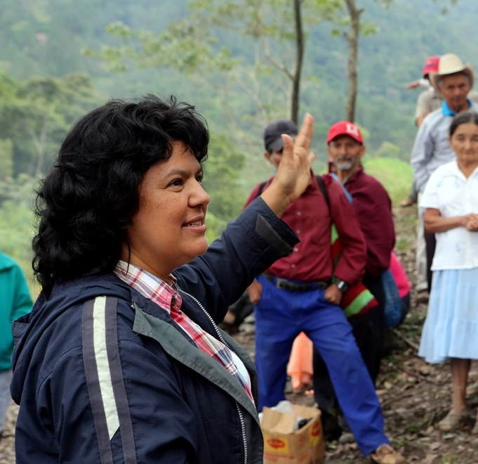 Berta Cáceres © Goldman Environmental Prize