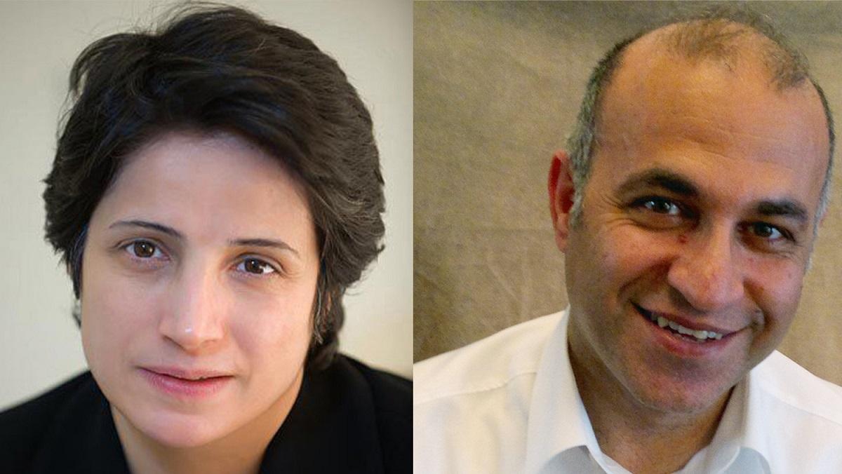 Nasrin Sotoudeh/Kamran Ghaderi © Arash Ashourinia/Privat
