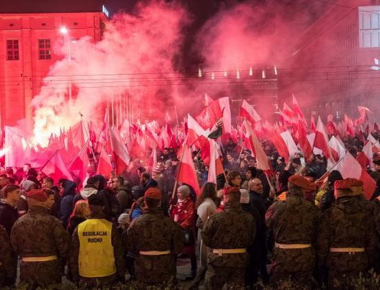 Unabhängigkeitstag in Warschau, 2018